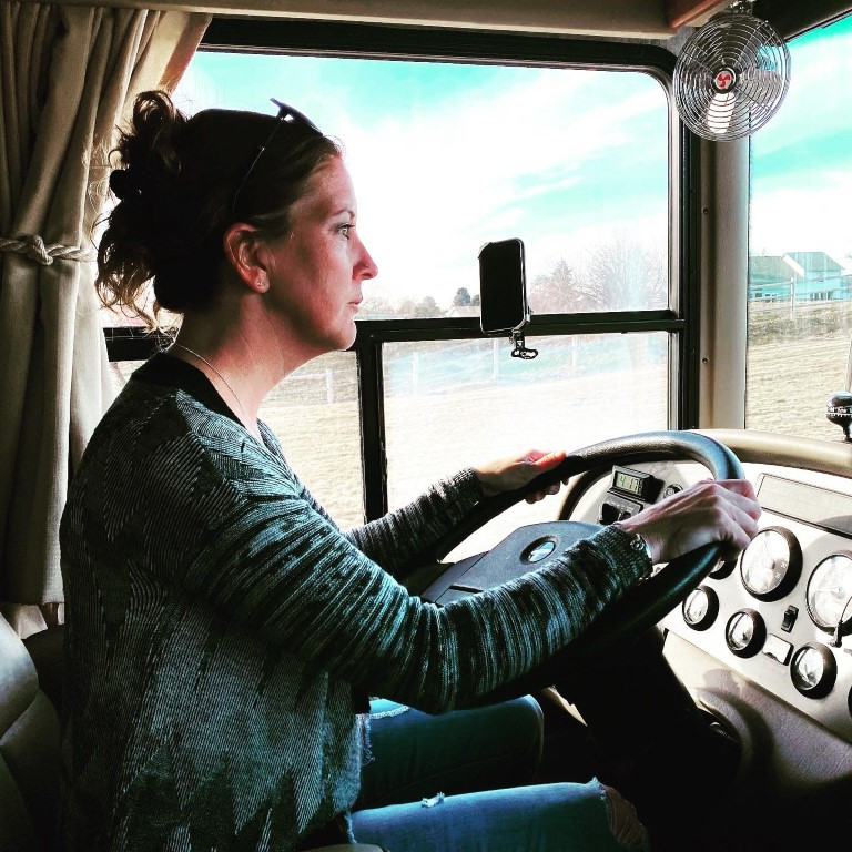 Driving the home on wheels